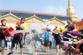 Penang Songkran Festival - See more local experiences at LokaLocal