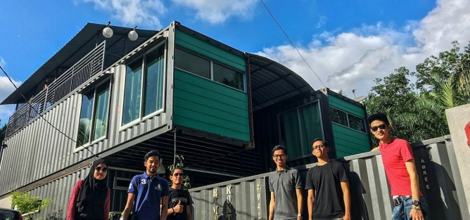 The Container House - Find your uniquely local staycation at LokaLocal