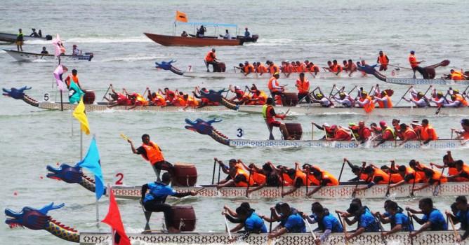 Dragon Boat Festival in Sabah
