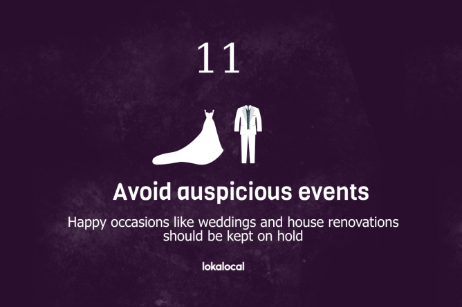 12 Things to Avoid During Hungry Ghost Festival - 9