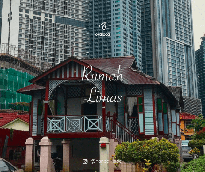 Rumah Limas is also known as Rumah Potong Belanda, predominantly found in Johor where it is known as Rumah Muar.
