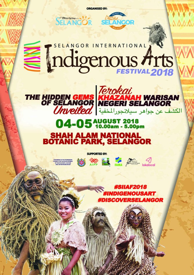 LokaLocal appointed as an official partner of Selangor's International Indigenous Arts Festival 2018