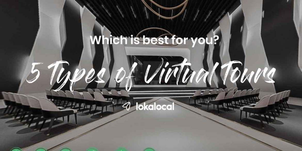 What kind of virtual tour do you need?