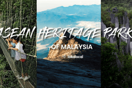 Asean Heritage Parks of Malaysia - www.lokalocal.com