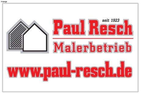 Anzeige-Paul-Resch-Schützenfest