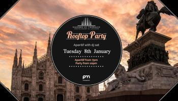 Martedi 12 Febbraio Terrazza Duomo21 Milano Loko Love Events