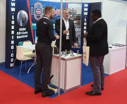 Lokring Northern UK at Trade Show