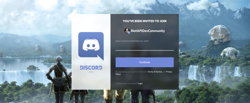 The Must Know League of Legends Discord Servers riot api dev discord page