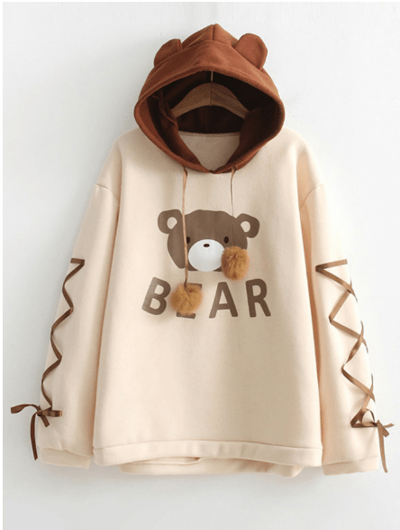 Middle school go-to hoodie