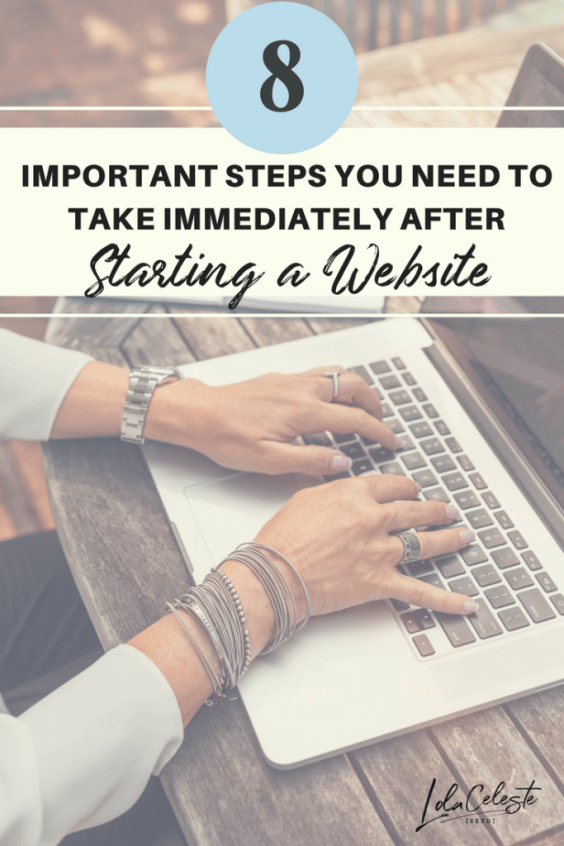 8 Steps to Do After Starting Your Website and blog is crucial for your blog to be found with search engines.
