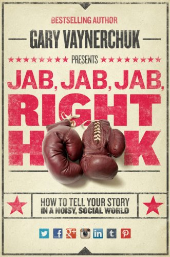 Jab, Jab, Jab, Right Hook, Top inspiring books for female entrepreneurs, bloggers and lady bosses - Lola Celeste