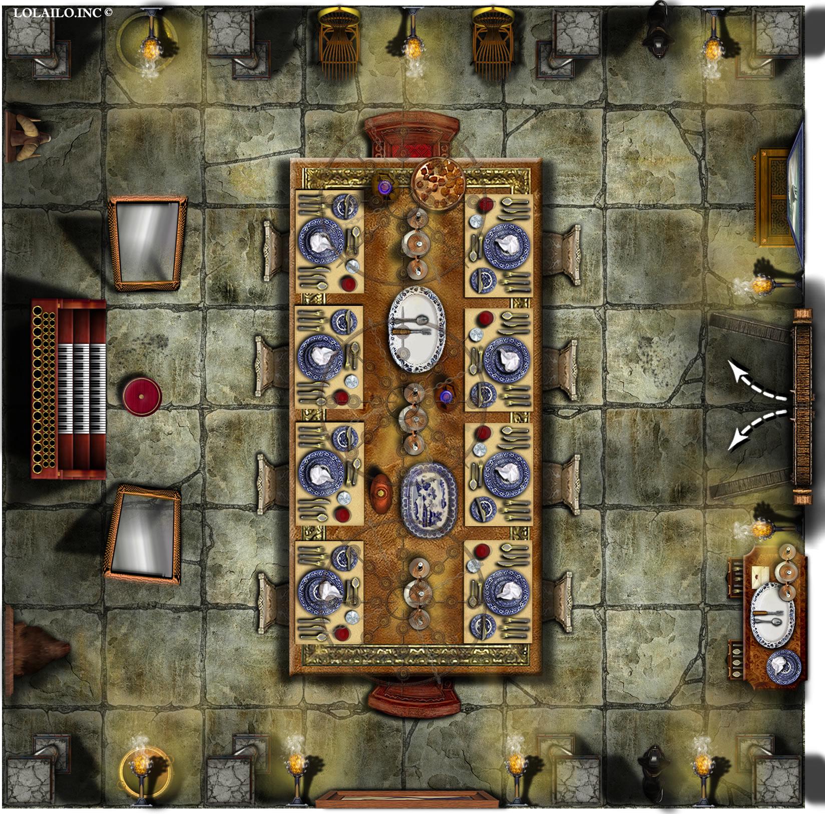Ravenloft Floor Plans Castle Floor Plans Rooms