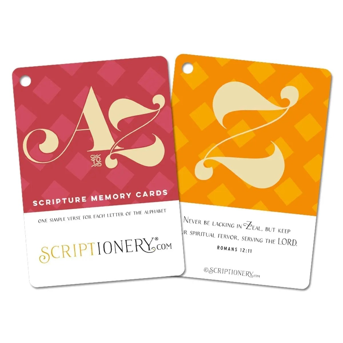 A to Z ABC Scripture Cards