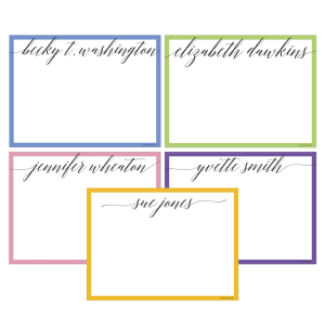 Calligraphy Notecard Set