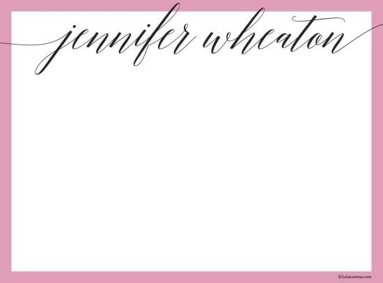 Scripto Notecards