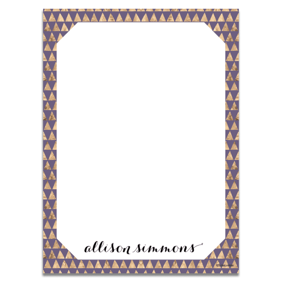 Golden Triangles Notecards