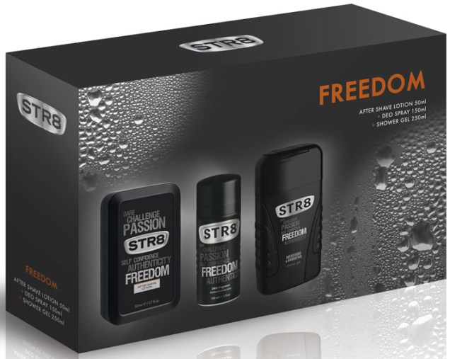 STR8 Freedom After Shave Lotion & Deo & Shower Gel