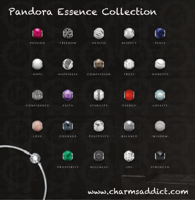 Pandora Essence Charm Collection