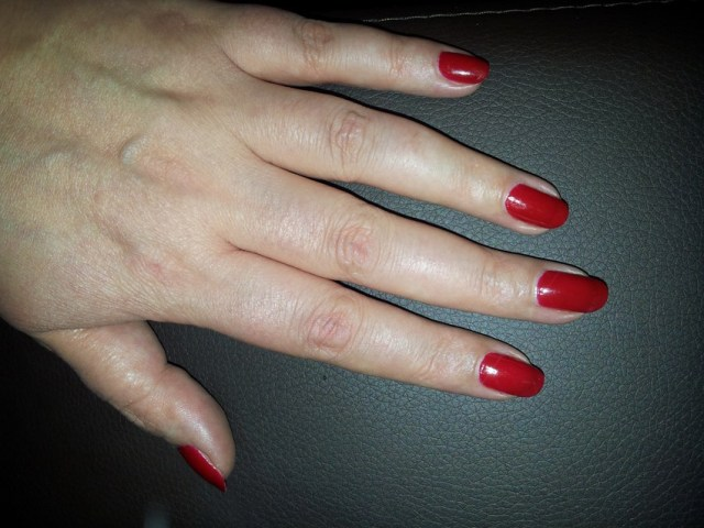 Red Hot Red OPI Brazil