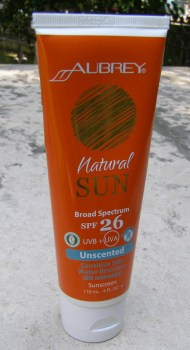 Aubrey Natural Sun SFP26 No Scent
