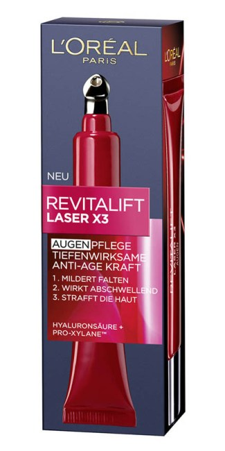 Beauty Advent Calendar, L'Oreal Paris, ser Revitalift Laser X3
