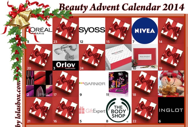 Beauty Advent Calendar, day 12