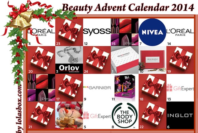 Beauty Advent Calendar, day 15