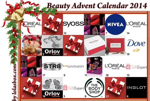 Beauty Advent Calendar, day 19