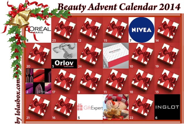 Beauty Advent Calendar, day 7