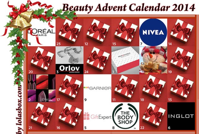 Beauty Advent Calendar, day 9