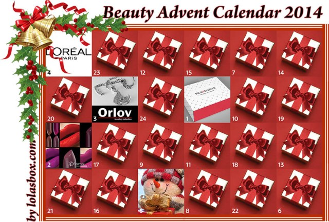 Beauty Christmas Advent, day 4