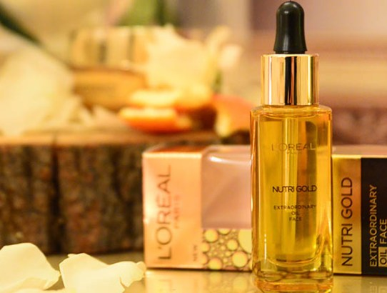 Uleiul facial L'Oreal Paris NUTRI GOLD Extraordinary