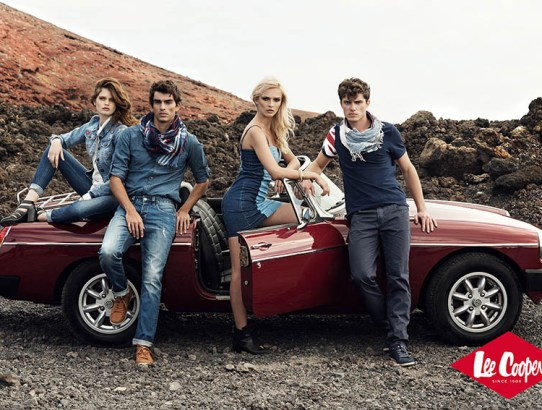 Lee Cooper primăvară vară 2015: Blue is back!