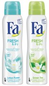 Fa Fresh & Dry, Lotus Flower & Green Tea, spray