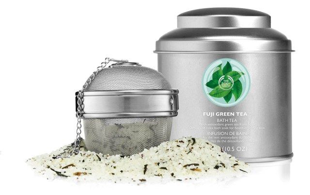 The Body Shop, Fuji Green Tea Bath Tea