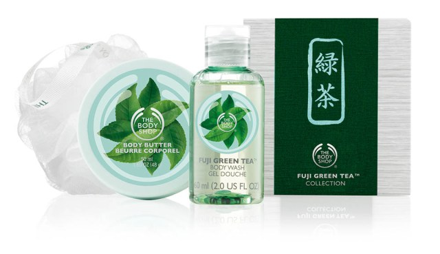 The Body Shop, Fuji Green Tea - Mini Tea Ceremony