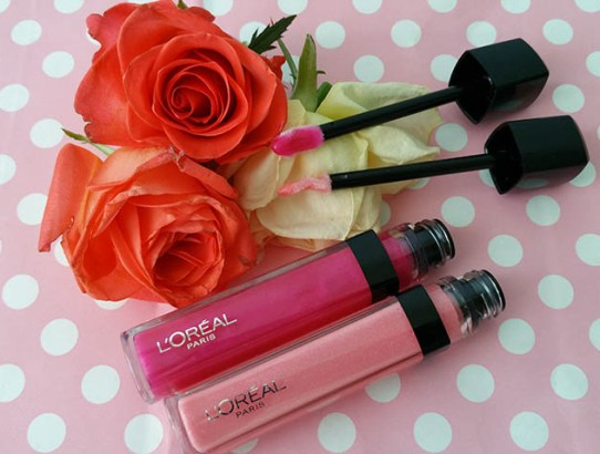 Noutăţile L'Oreal Paris: Infallible Mega Gloss & Color Riche Supergraphic Pops