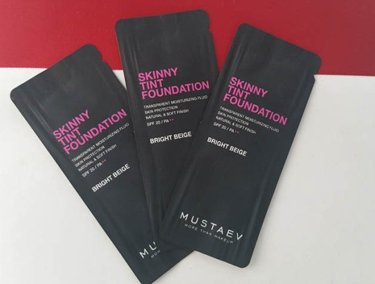 Tried & tested: MustaeV Skinny Tint Foundation Bright Beige