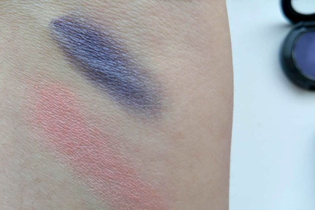 MustaeV Single Eye Shadow, swatches