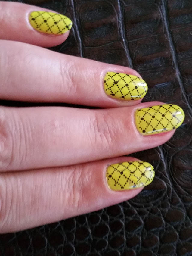 Flormar Nail Art, Fluorescent Yellow