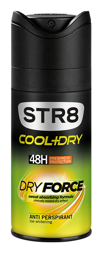 STR8 COOL+DRY DRY FORCE, deodorant