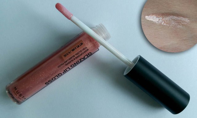 MustaeV Glazing Lips Gloss Golden Peach