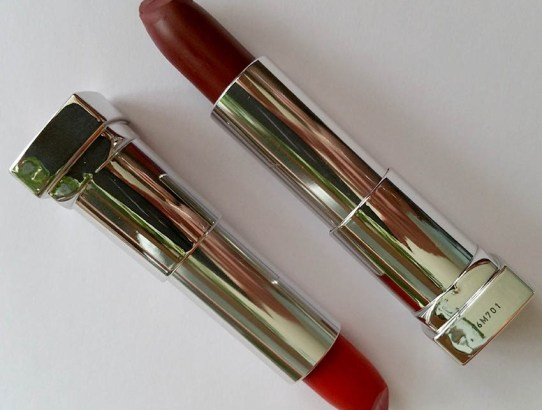 Maybelline Creamy Matte - review #965 Siren In Scarlet & #975 Divine Wine