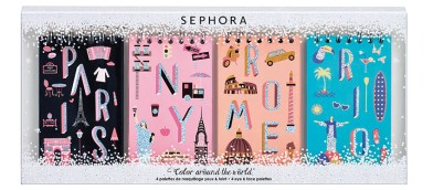 Sephora Xmas Collection, set Color In The City