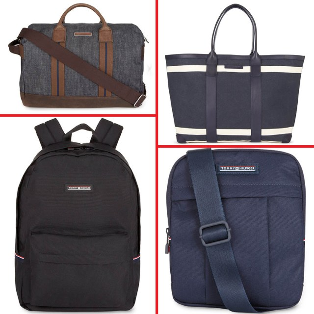 Preppy Canvas Travel Bag 969 lei / Icon Tote 1.109 lei / Tommy Backpack 439 lei / Tommy Crossover 349 lei