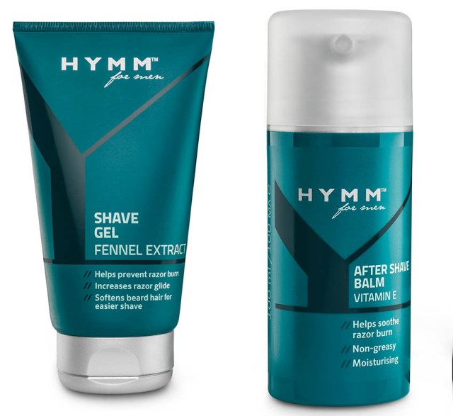 Amway Hymm for men, gel de bărbierit & after shave balsam