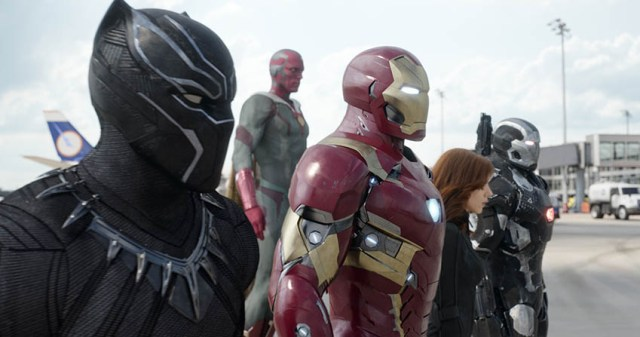 Captain America: Civil War, Team Iron Man