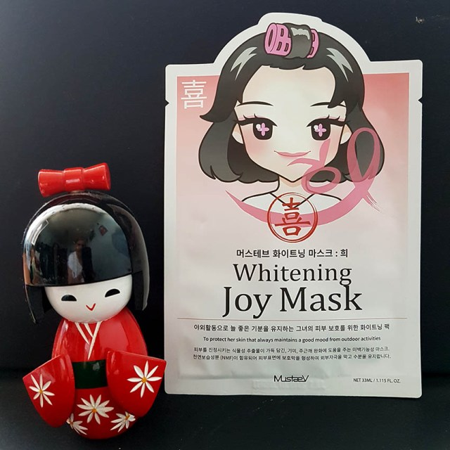 MustaeV Mood Therapy Whitening Joy Mask