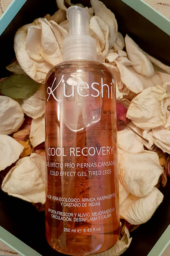Kueshi Cool Recovery Cold Effect Gel Tired Legs