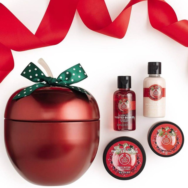 The Body Shop Frosted Berries & Vanilla Chai